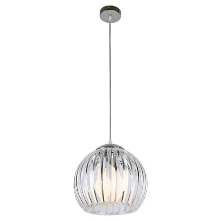 Подвесной светильник (цвет хром, прозрачный)
