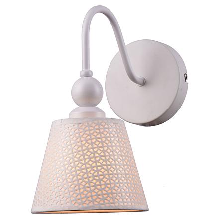 Hartford 1: Настенный светильник (цвет белый)
