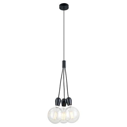 Подвесной светильник (цвет черный)