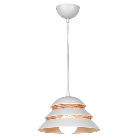 Подвесной светильник в стиле лофт (цвет белый, медный)