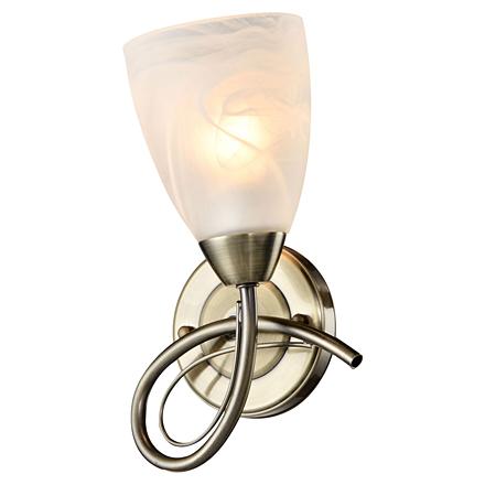Rogers 1: Настенный светильник (цвет бронзовый, белый)