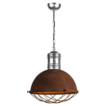Светильник-плафон в стиле лофт (ржавый)