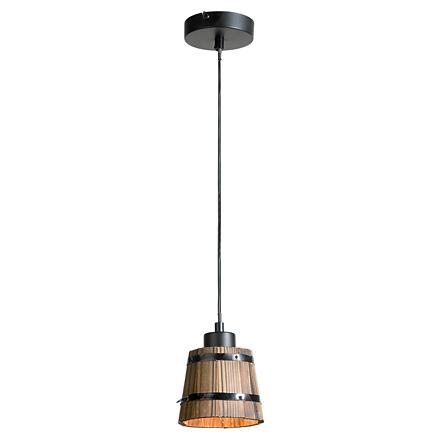 Светильник под деревянное ведро (лофт)