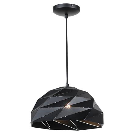 Подвесной светильник в современном стиле (черный)