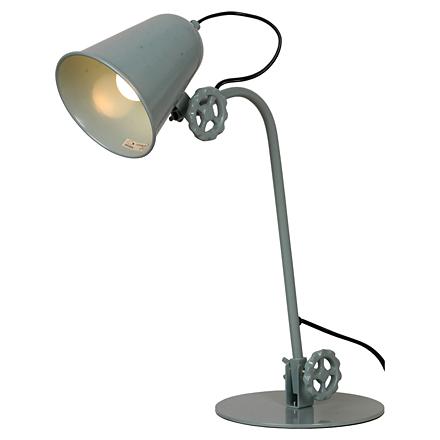 Kalifornsky 1: Настольная лампа в стиле лофт (цвет синий)