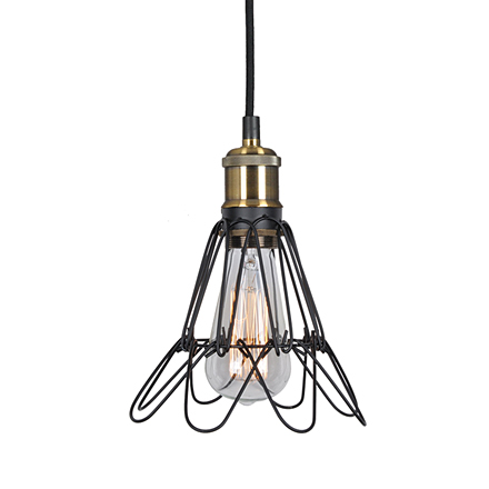 Подвесной светильник - обрешетка лампы