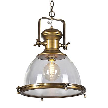 Люстра в стиле лофт (цвет бронзовый, прозрачный)