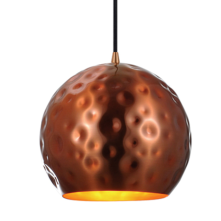 Подвесной светильник (цвет медный)