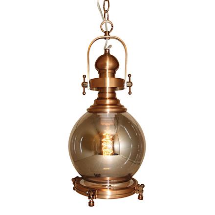 Подвесной светильник в стиле лофт (цвет бронзовый, серый)