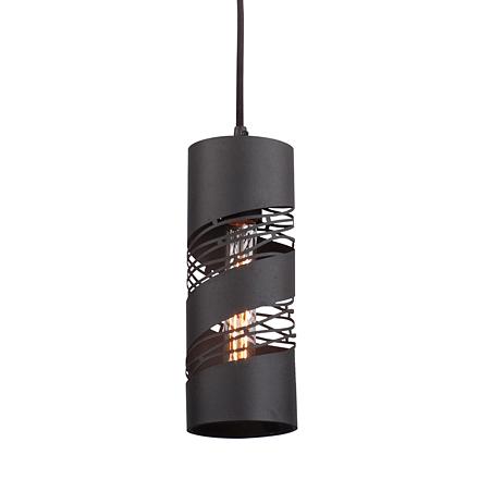 Подвесной светильник-цилиндр в стиле лофт