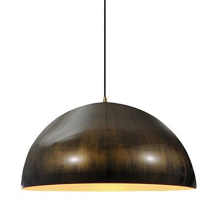 Подвесной светильник в стиле лофт (цвет бронзовый)
