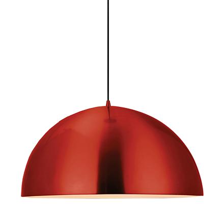 Подвесной светильник в стиле лофт (цвет красный)