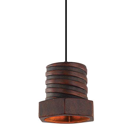 Подвесной светильник (цвет коричневый)
