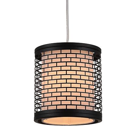 Светильник в стиле лофт - абажур в сетке