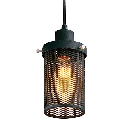Подвесная лампа в сетке (лофт)