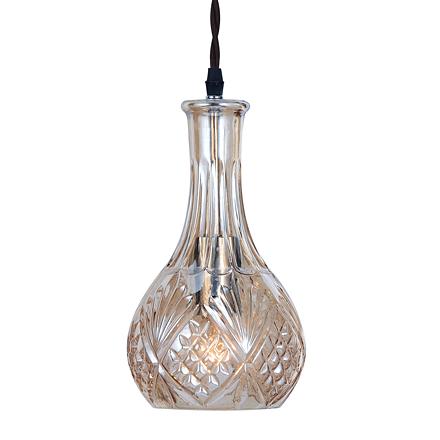 Подвесной светильник-графин