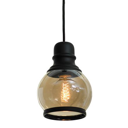 Подвесной светильник из стекла (лофт)