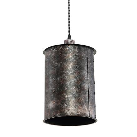 Подвесной металлический цилиндр (лофт)