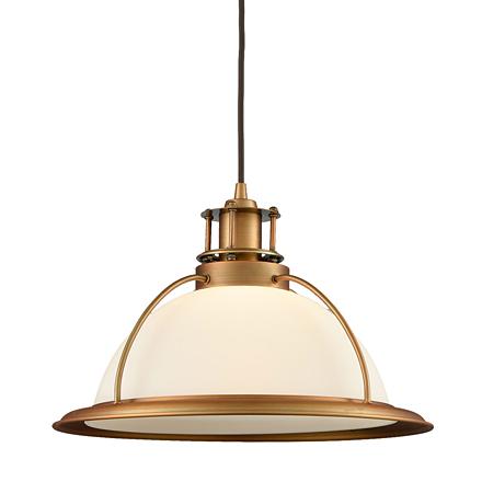 Подвесной светильник в стиле лофт (цвет бронзовый, белый)