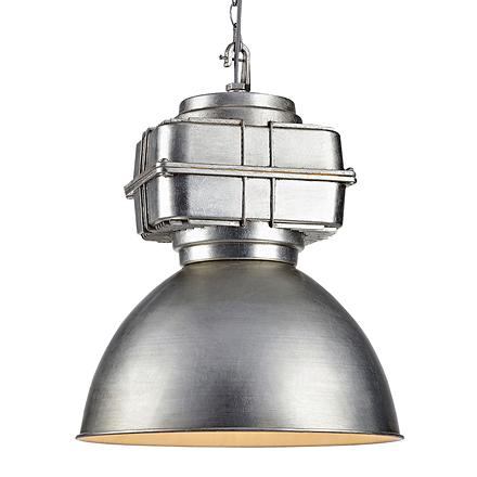 Подвесной светильник в стиле лофт (цвет серый)