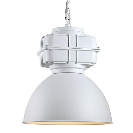 Подвесной светильник в стиле лофт (цвет белый)