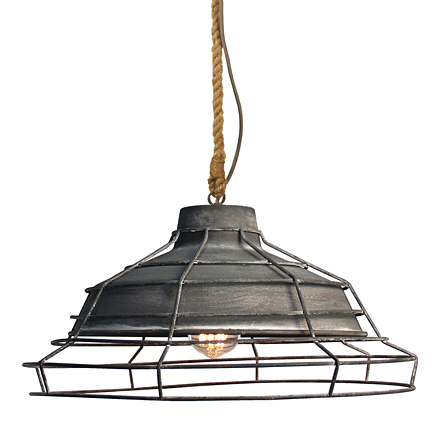 Декоративный промышленный светильник (лофт)