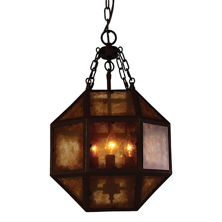 Подвесной светильник в стиле лофт (цвет коричневый)
