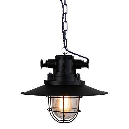 Подвесной ретро индустриальный фонарь