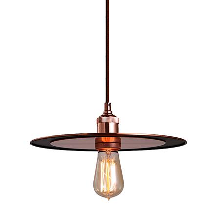 Подвесной светильник в стиле лофт (цвет медный)