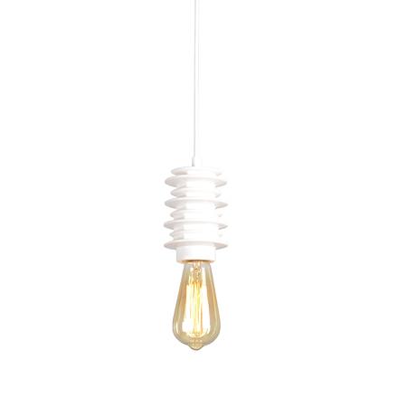 Подвесная лампа лофт (белая)