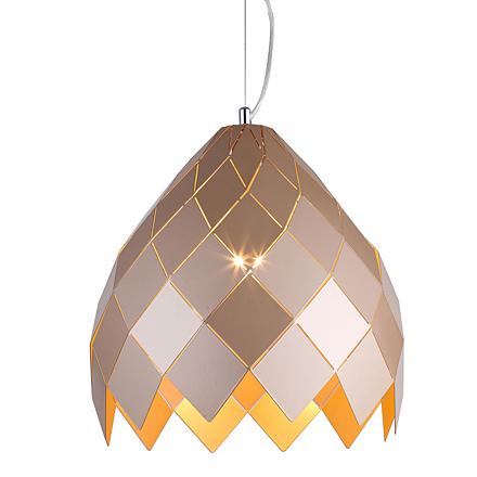 Подвесной светильник в стиле лофт (цвет бежевый)