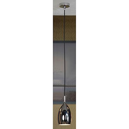 Подвесной светильник в стиле лофт (цвет хром)