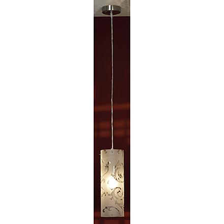 Подвесной светильник (цвет никель, белый)