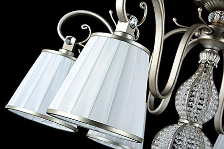 Люстра цвет серебро антик [Фото №2]