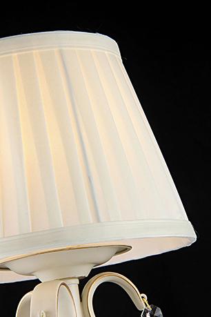 Настольная лампа цвет бежевый [Фото №2]