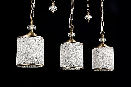 Подвесной светильник цвет бронза антик [Фото №2]