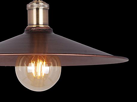 Подвесной светильник стиль лофт, ретро [Фото №3]