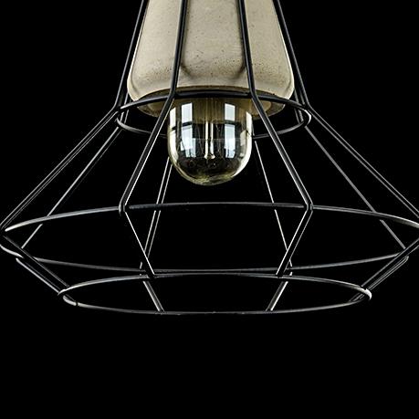 Подвесной светильник T452-PL-01-GR [Фото №5]