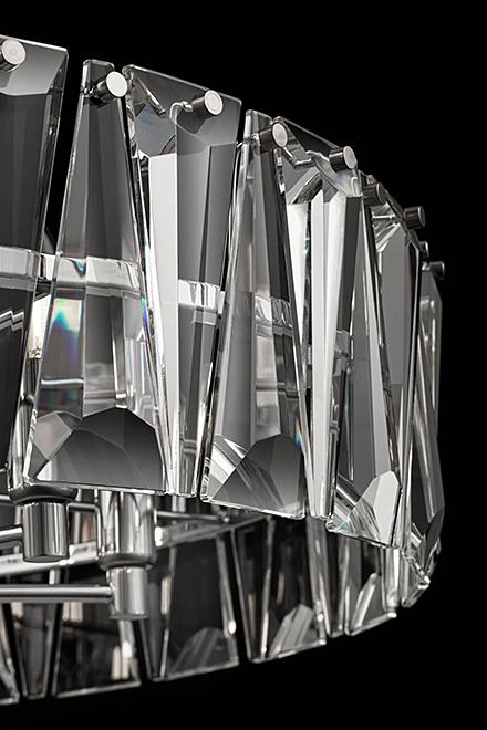 Подвесной светильник цвет хром [Фото №2]