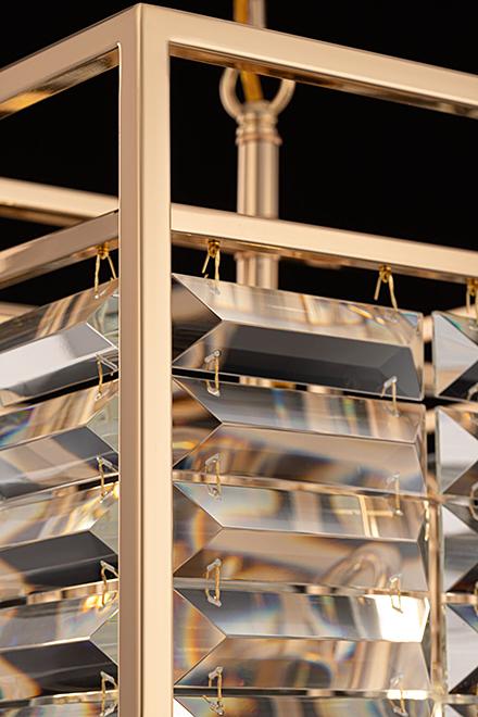 Подвесной светильник цвет золото/золотой [Фото №2]