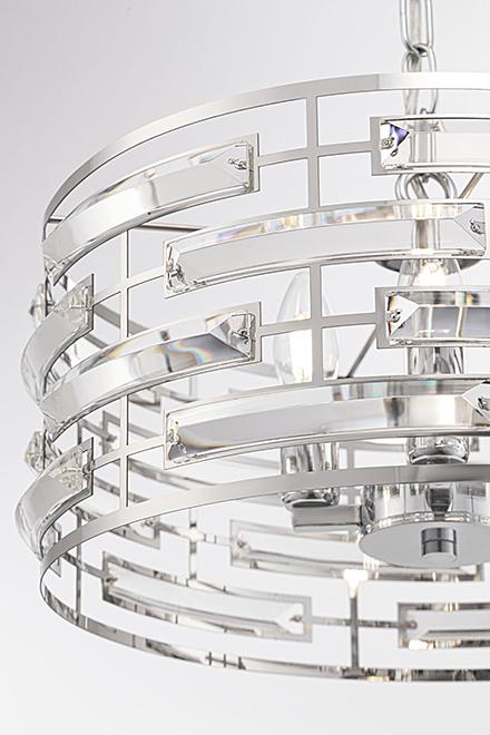 Подвесной светильник стиль модерн [Фото №3]