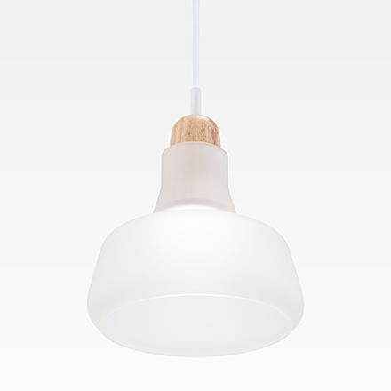 Подвесной светильник цвет матовый белый [Фото №2]