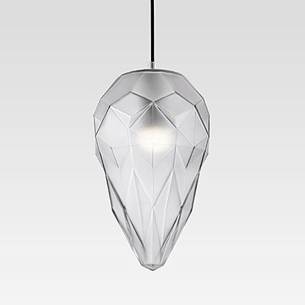 Подвесной светильник цвет хром/серый [Фото №2]