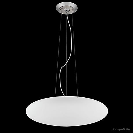 Подвесной светильник цвет никель [Фото №2]
