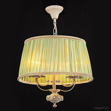 Подвесной светильник цвет слоновая кость [Фото №2]