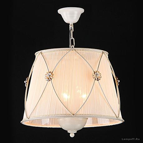 Подвесной светильник цвет жемчужный белый [Фото №2]
