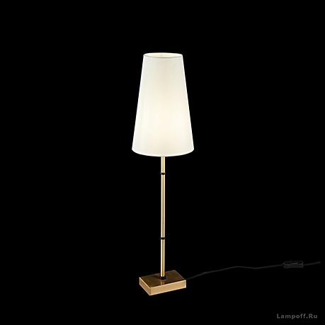 Настольная лампа цвет латунь [Фото №2]