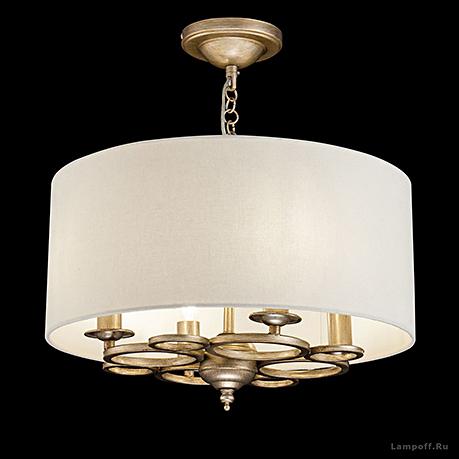 Подвесной светильник цвет золото антик [Фото №2]