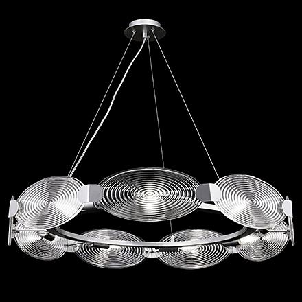 Подвесной светильник (цвет серебро, прозрачный)