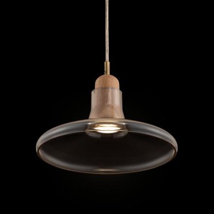 Подвесной светильник (янтарный)